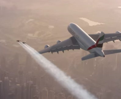 Jet Man in Dubai gets Experiential with Emirates