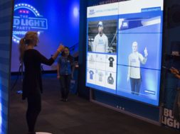Bud Light Virtual Fitting Room System for Events and Experiential Marketing