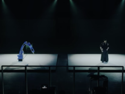 YASKAWA BUSHIDO PROJECT / industrial robot vs sword master