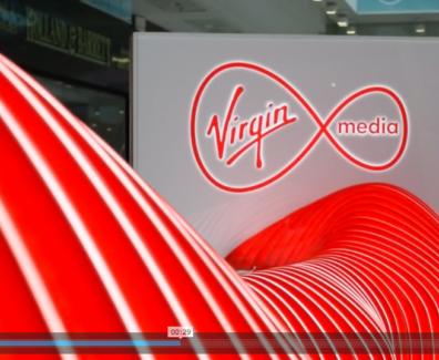 Virgin Media Custom Made Pop-Up Shop for Experiential Marketing.