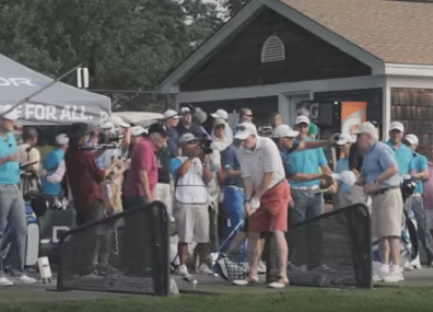 Sergio Garcia and Taylor Made Golf give out free Drivers and Golf Lessions at Bethpage Black
