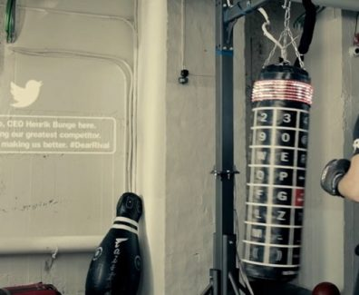 Twitter Punching Bag - Experiential Marketing Agency