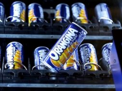 Orangina Experiential Vending Machine