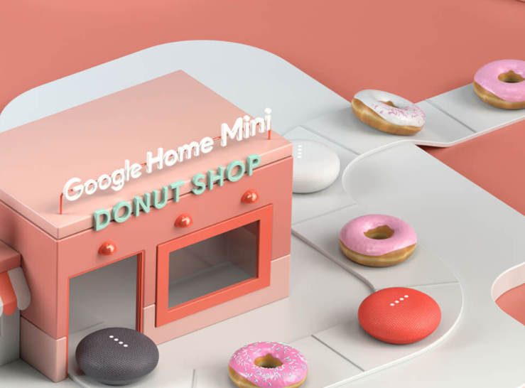 Google Home Donuts >> Google Home Mini Donut Shop Experiential Marketing News