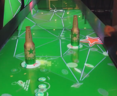 Interactive Bar - Heineken Experiential Marketing