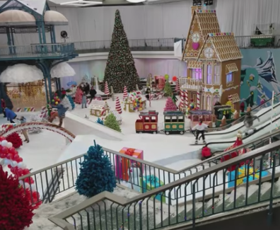 Christmas Experiential campaigns