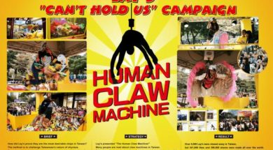 The Lays Human Claw Machine