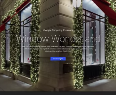 Take a virtual tour of 18 of New York City's most iconic holiday windows through Window Wonderland. Start walking at: https://windowwonderland.withgoogle.com/