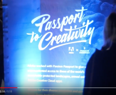 Adobe Passport to Creativity
