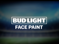 Bud Light Face Paint by Float Hybrid