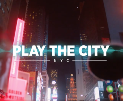 Play The City — Augmented Reality Experience